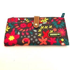 LILY BLOOM Garden Liza Travel Wallet
